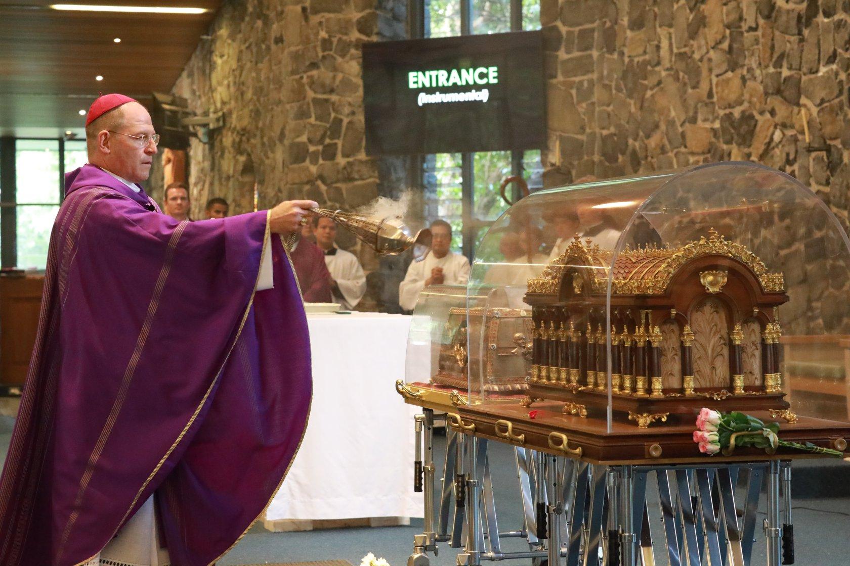 Bishop Incensing Relics